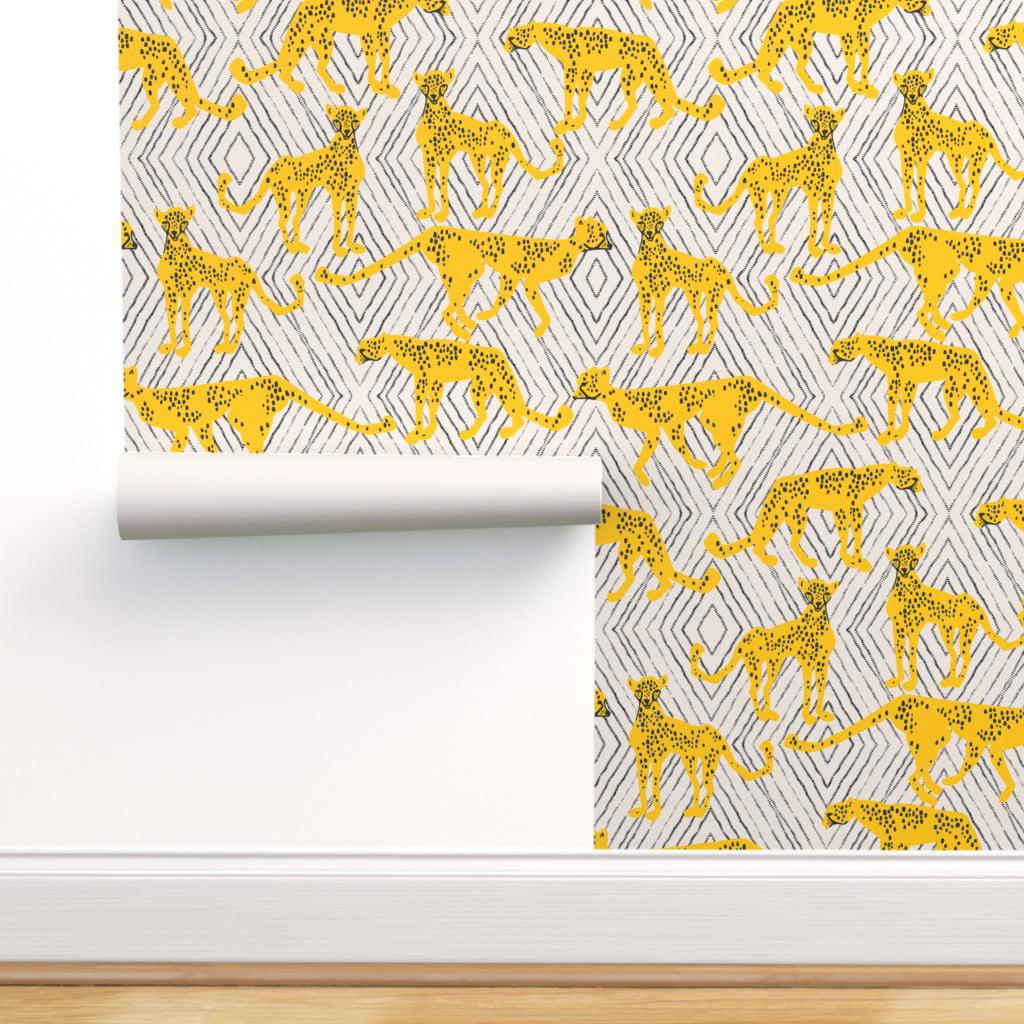 Home Cheetah Animal Wild cat Di Cut Decal Tumblers Computer Laptop //Tru