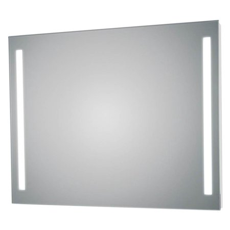 2 LED Lighted Wall Bathroom Mirror (23.6 in. W x 1.3 in. D x 31.5 in. H)