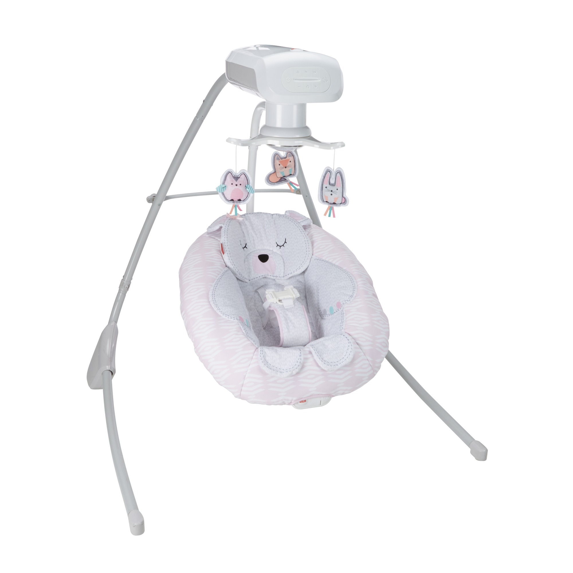Fisher Price Cradle 'n Swing with 6-Speeds, Snugabear Sweetie by Fisher-Price