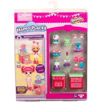 Shopkins - Happy Places Decorator Pack, Muffin Kitty Kitchen