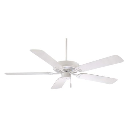 Contractor 52 Fan (Minka Aire F547-WH Contractor 52 in. Indoor Ceiling Fan - White - ENERGY STAR )