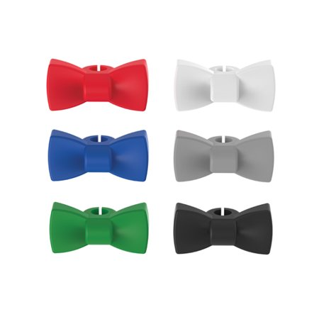 Neck Tie Charm (TRUE Bow Tie: Silicone Wine Charms )