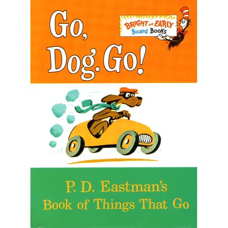 Go Dog Go P D Eastmans Book of Things th (Board Book)