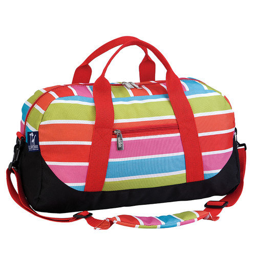 Bright Stripes Duffel Bag