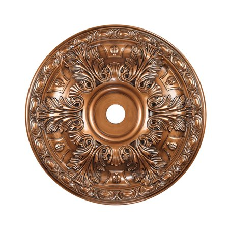 "Elk Lighting Pennington 36"" Medallion Ceiling Canopy in Antique Bronze"