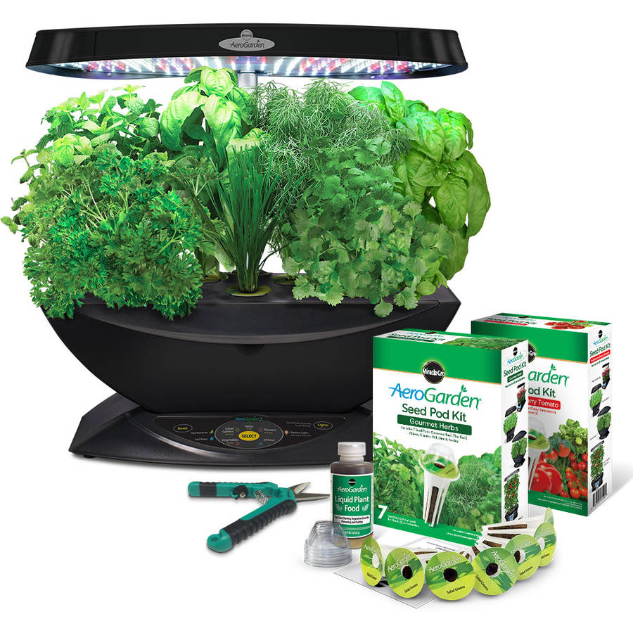 Led Kitchen Garden Hydroponics Walmartcom