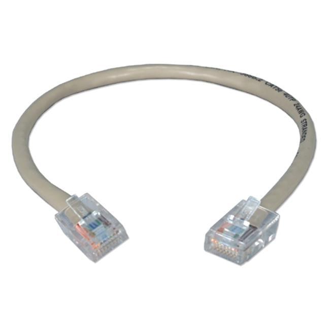QVS CC712E-01 1 ft. 350MHz CAT5e Flexible Gray Patch Cord - image 1 de 1