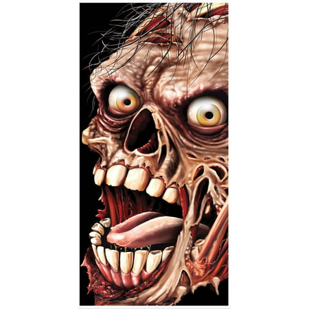 Zombie Door Cover Halloween Decoration - Halloween Putter Cover