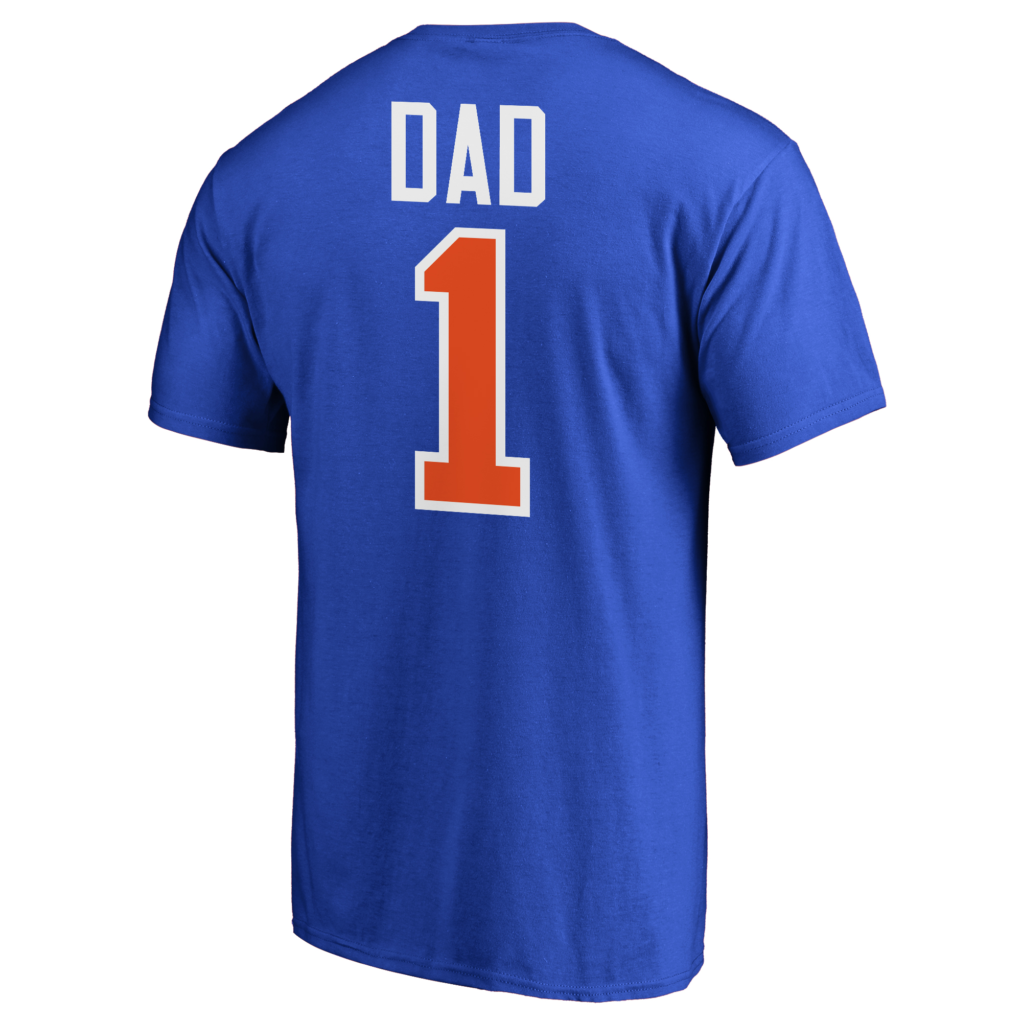 huge discount e2549 4dbfc New York Mets 2018 Father's Day Big & Tall #1 Dad T-Shirt - Royal