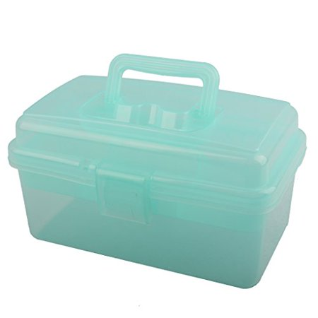 BangQiao Multipurpose First Aid, Arts & Craft Supply Case / Storage Container Box w/ Removable Tray
