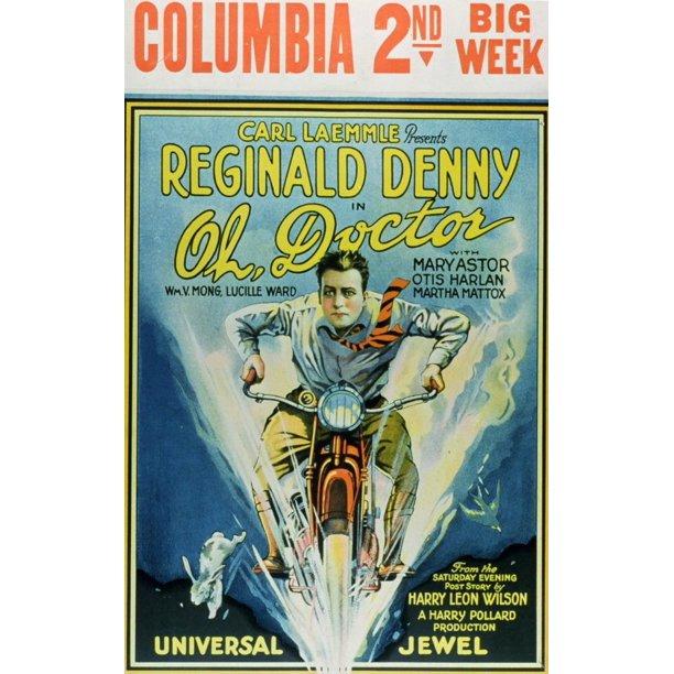 Oh Doctor Movie Poster Style A 11 X 17 1925 Walmart Com Walmart Com