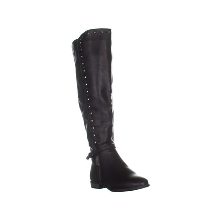 RIALTO Ferrell Knee High Boots, Black/Smooth - image 6 of 6