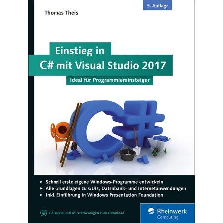 Studio C Halloween 2017 (Einstieg in C# mit Visual Studio 2017 -)