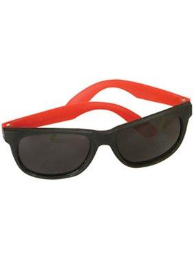 ef6e4ef011d Product Image Retro 80s Neon Red   Black Sunglasses. Rhode Island Novelty