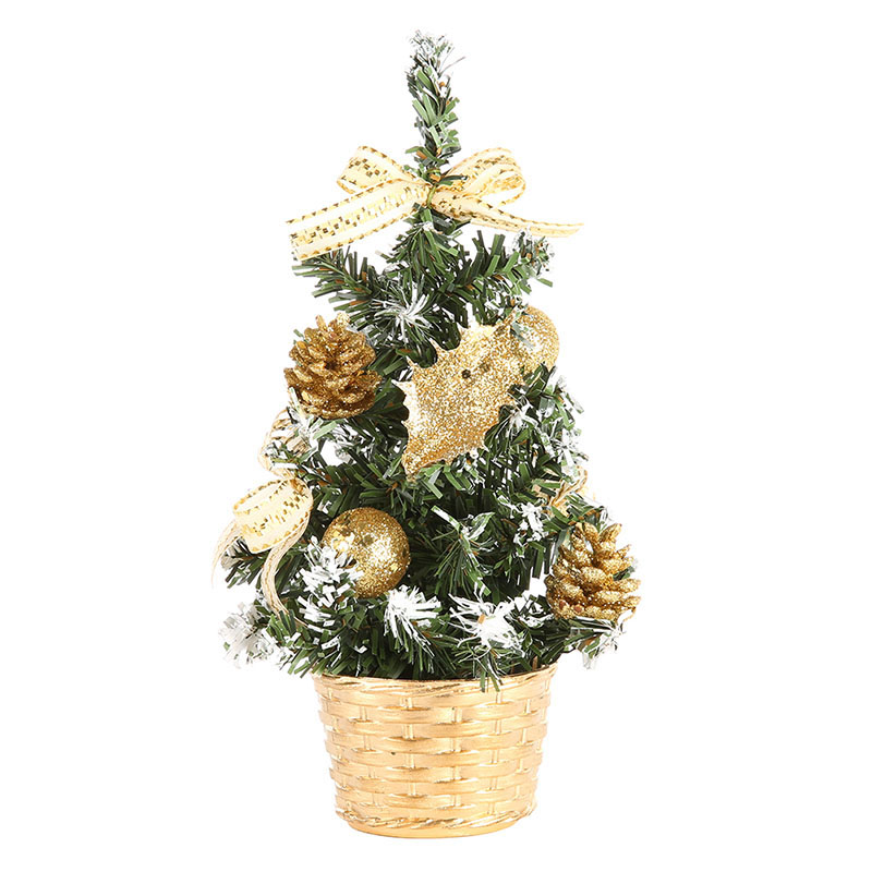 Nicesee Mini Table Christmas Tree Home Decor Festival Party Xmas Gifts