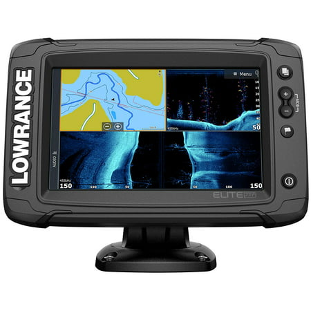 Elite-7 Ti2-7-inch Fish Finder Active Imaging 3-in-1Transducer Wireless Networking, Real-Time Map Creation US/CAN Navionics+ Mapping