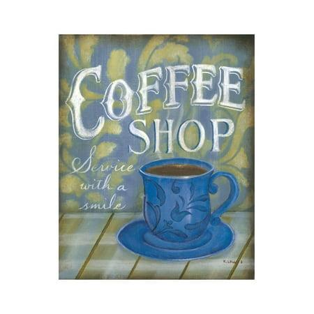 Coffee Shop Print Wall Art By Kim Lewis](Art Shops)