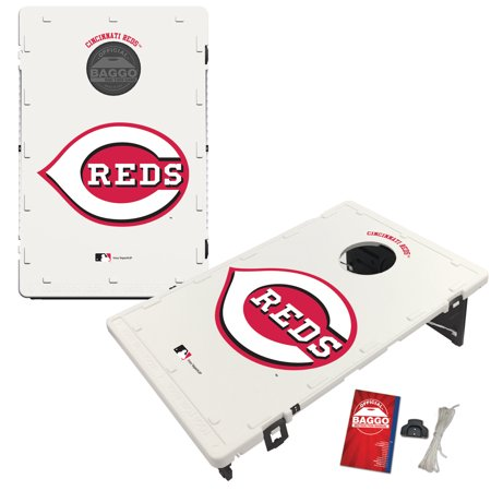 Cincinnati Reds 2' x 3' Classic Design BAGGO Bean Bag Toss Game - No Size
