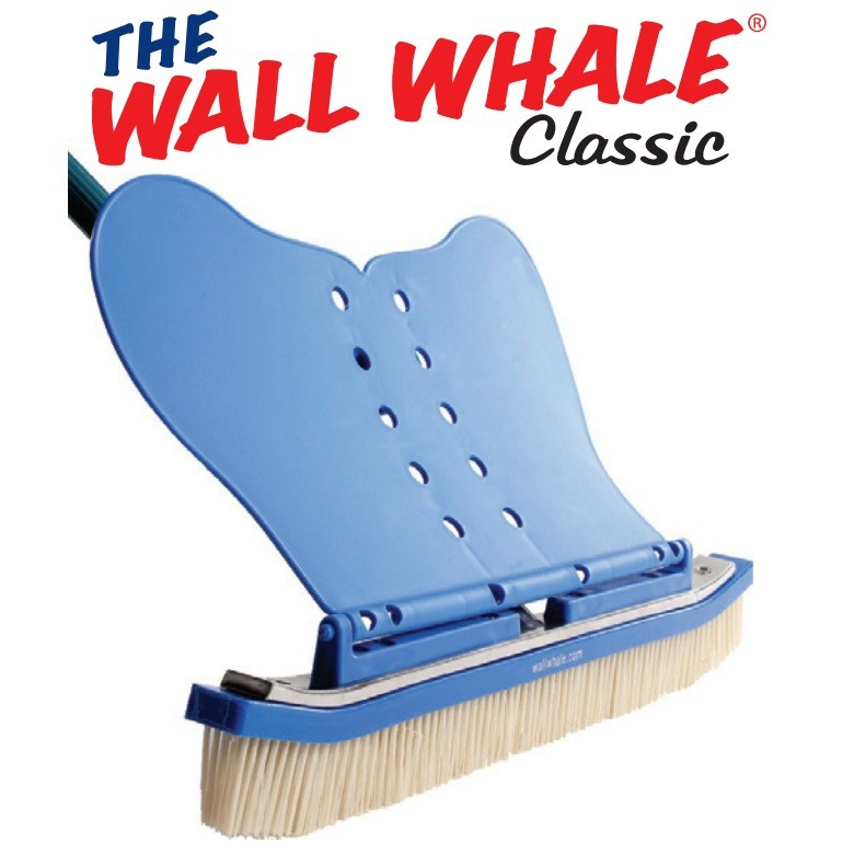 "GABco 18"" Wall Whale Classic Pool Brush, Nylon Bristles by GABco Products"