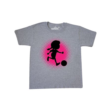 Girl Soccer Player Sports Team Youth T-Shirt ()