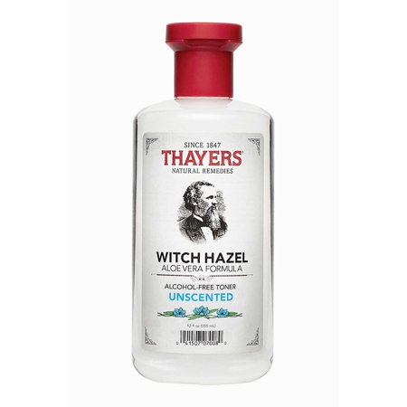 3 Pack   Thayers Alcohol Free Witch Hazel With Organic Aloe Vera Formula Toner  Unscented 12 Oz