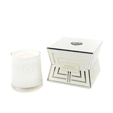Soziety by Votivo Candle Wonderful White 19ZC (Volcano Candle Sale)