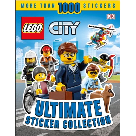 Ultimate Sticker Collection: LEGO CITY (Tri Cities Halloween Activities)