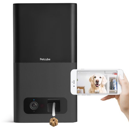 Petcube Bites Wi-Fi Pet Camera and Treat Dispenser - Carbon - Treat Dispenser Rubber