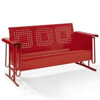 Crosley Bates Sofa Glider In Red