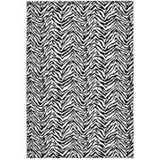 Garland Zebra Polypropylene Area Rug