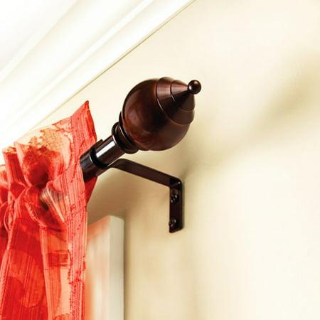 "Better Homes and Gardens Hampton Curtain Rod, 5/8"" Rod Diameter"