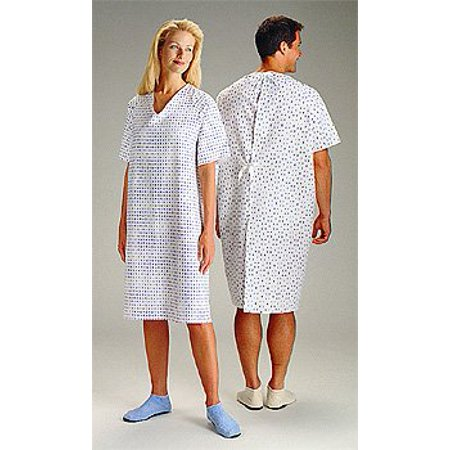 Hospital Gowns - Wholesale Medical Gowns(3 Pack) (Hospital Patient Gown Halloween)
