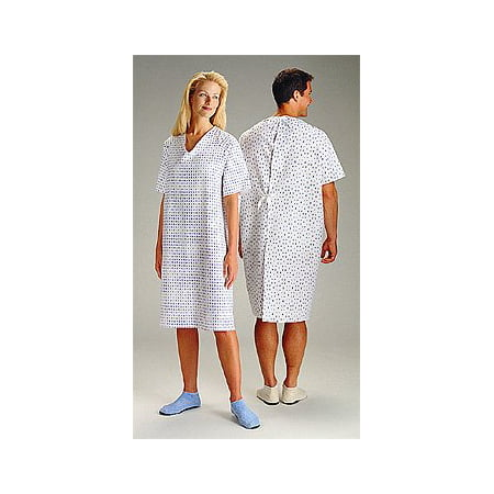 Hospital Gowns - Wholesale Medical Gowns(3 Pack) - Halloween Hospital Gown