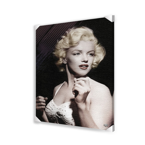 Pyramid America Marilyn Monroe Photographic Print on Wrapped Canvas