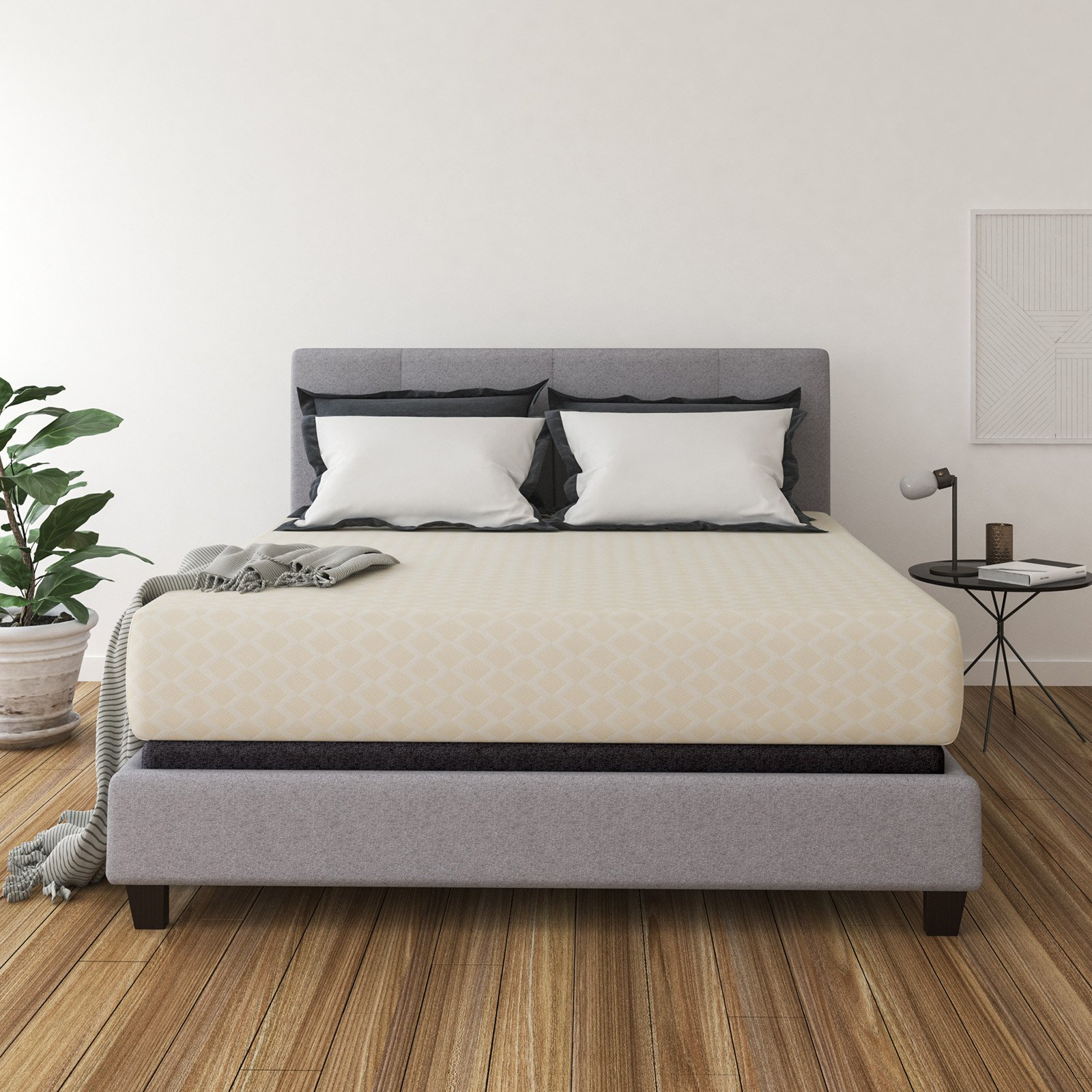 Signature Design by Ashley 12 in. Memory Foam Mattress
