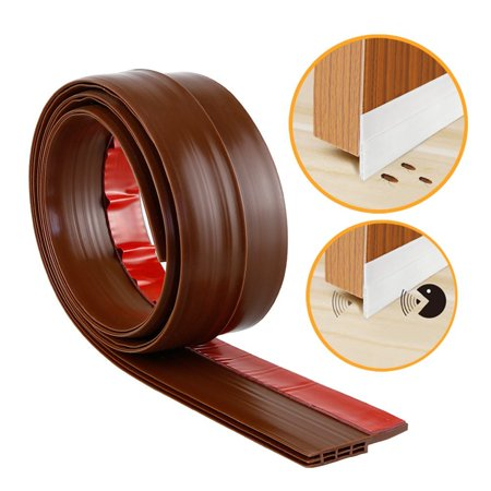 Cosyitems Waterproof Under Door Sweep Door Draft Stopper Bottom Seal Strip Weather Stripping Rubber Door Gap Cover / Sealer |By Cosyitems Only