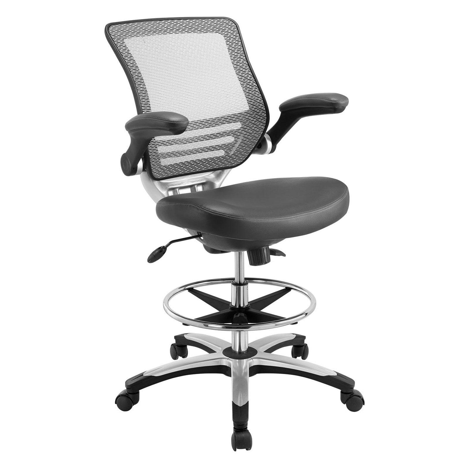 Modway Edge Drafting Chair Walmart Com