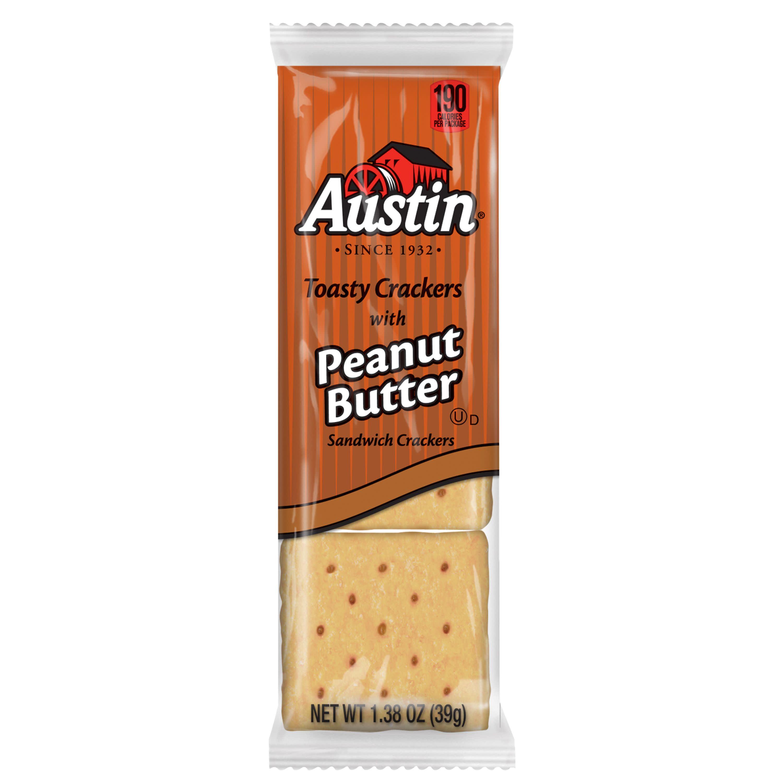 munchies peanut butter crackers calories