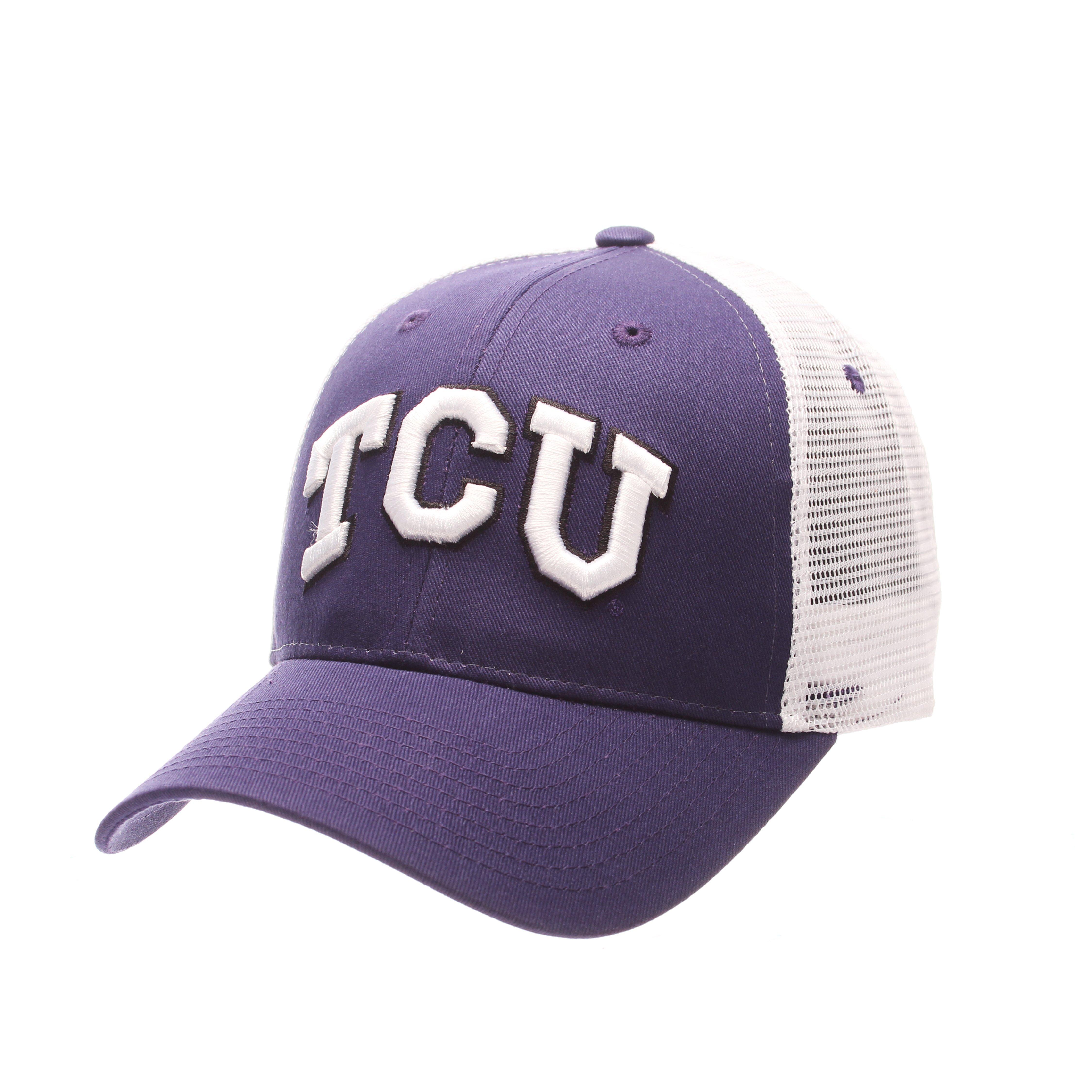 Tcu Horned Frogs Official NCAA Big Rig Adjustable Hat Cap by Zephyr 501764