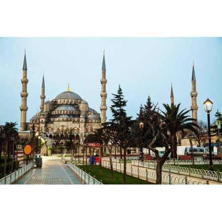 (Sultan Ahmed Mosque (Blue Mosque) in Istanbul Print Wall Art By photo.ua)