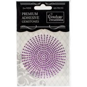 Couture Creations Self-Adhesive Gemstones 2mm 424/Pkg-Amethyst