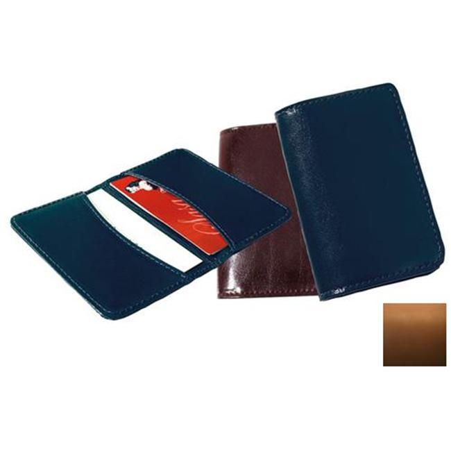 Raika SF 112 TAN Business Card Holder - Tan