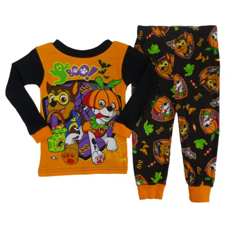 paw patrol infant boys chase marshall halloween pajama set