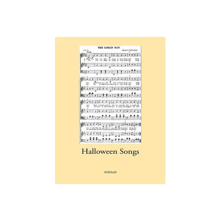 Halloween Songs - eBook (Best Songs For Halloween Mix)