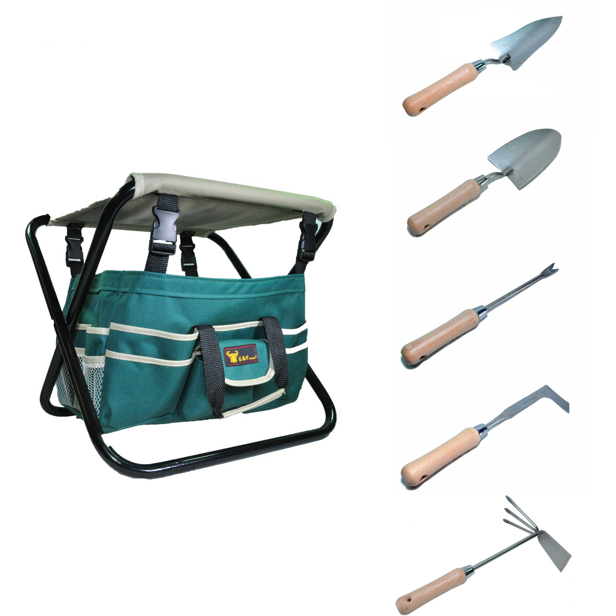 7 piece ergonomic garden tool set includes premium grade for Gardening tools 7 letters