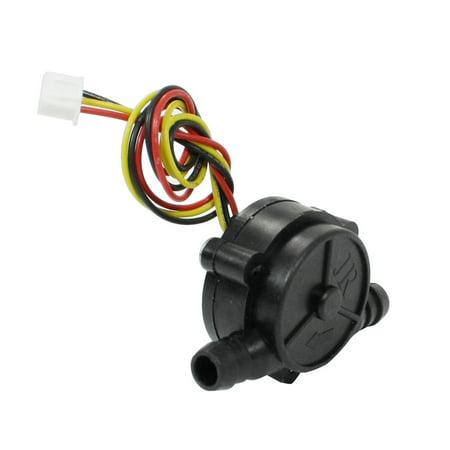 Unique Bargains Unique Bargains Electronic Hall Effect Water Flow Counter Sensor HQ-A68-1 1-30L/min (Hall Effect Speed Sensor)