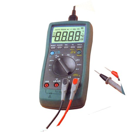 Digital Multimeter Cat - Cat III TRMS Autorange Digital Multimeter with PC Interface