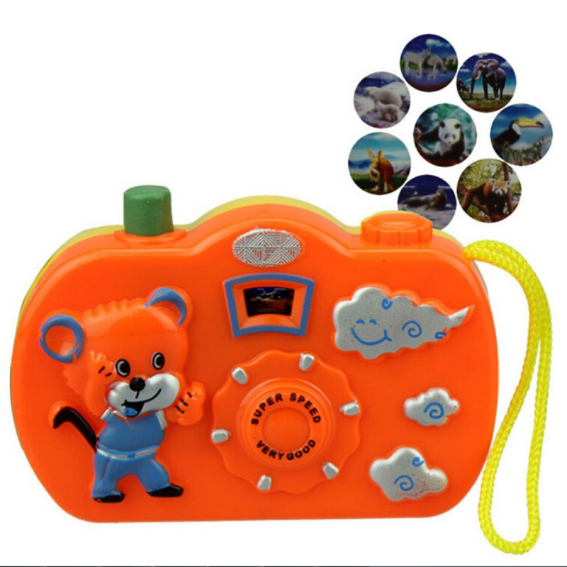 Baby Play Projection Camera Toys Animal Model Light ...