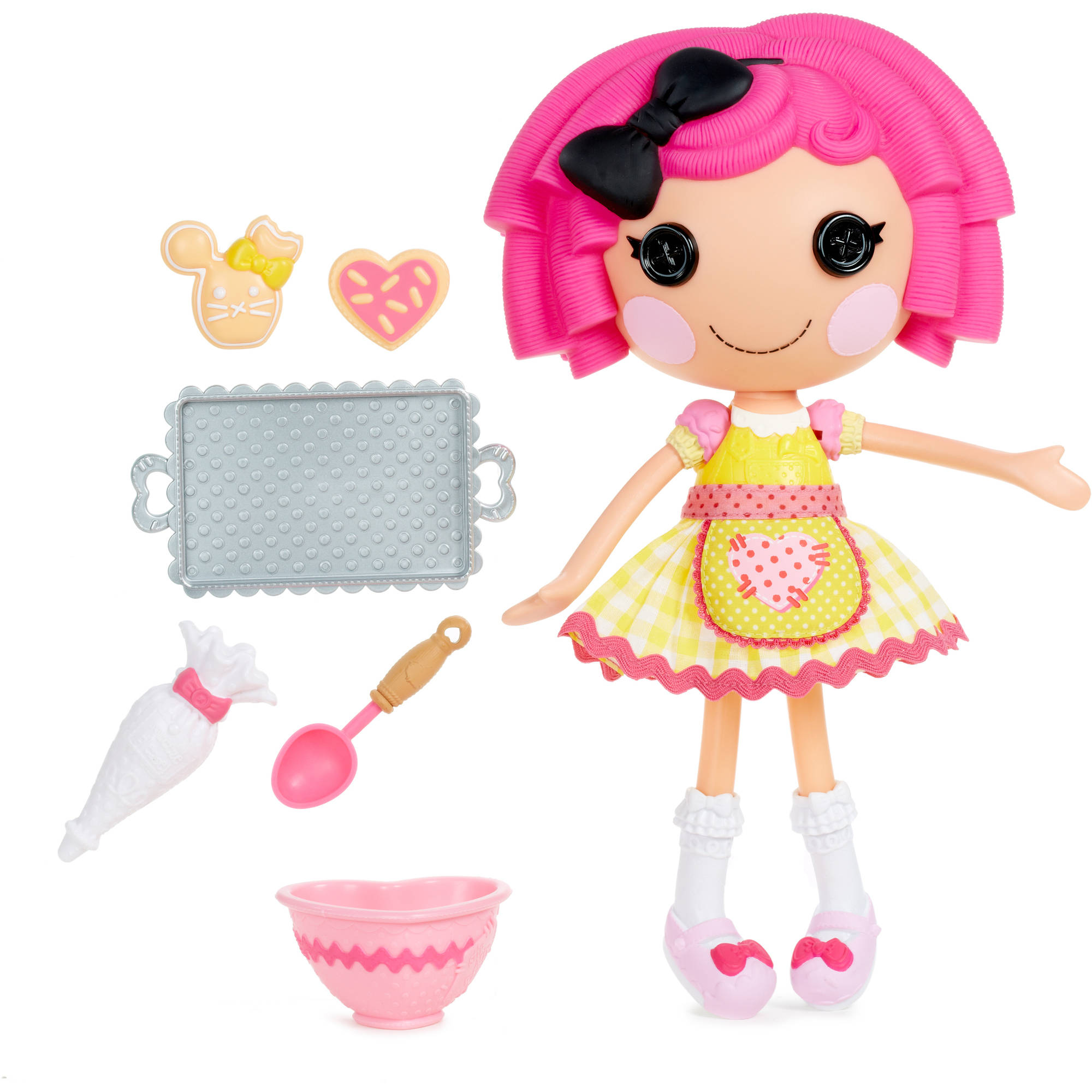 Lalaloopsy Large Doll with Accessories, Crumbs Sugar Cookie