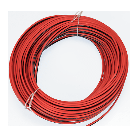 18 Gauge Red Black ZIP Wire AWG Cable Power Ground Stranded Copper Car ()